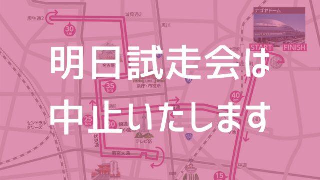 名古屋ウィメンズマラソン試走会